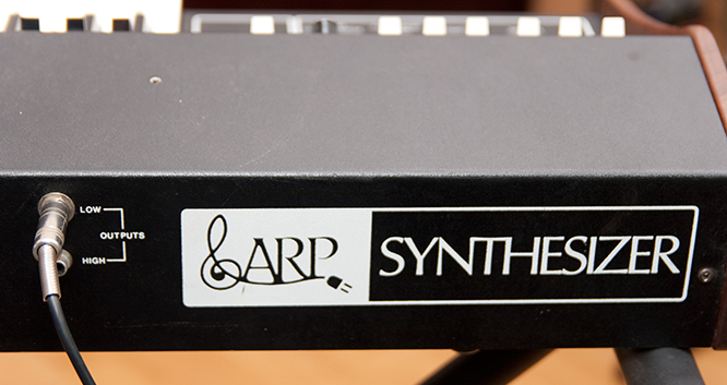 Logo ARP Synthetizer