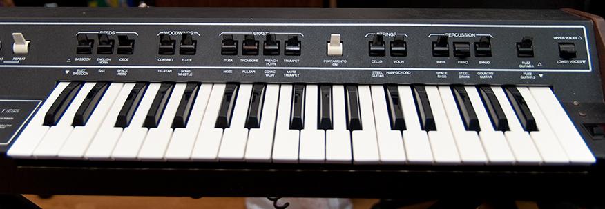 Clavier Arp Pro Soloist restauré
