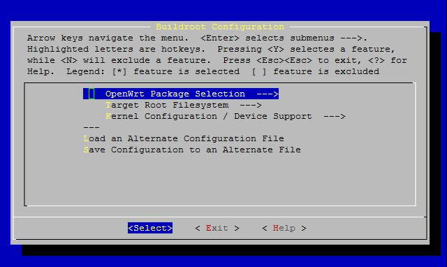 Configuration OpenWRT